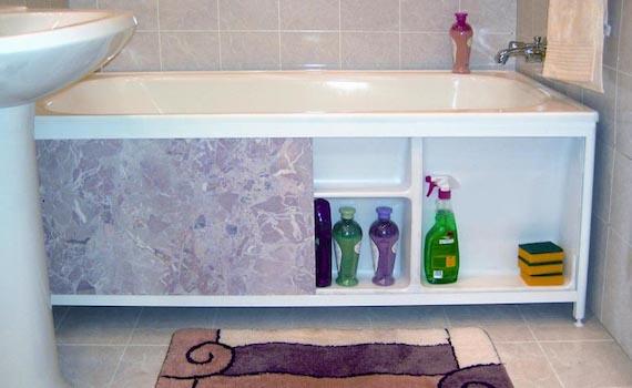 Выбор экрана для ванной