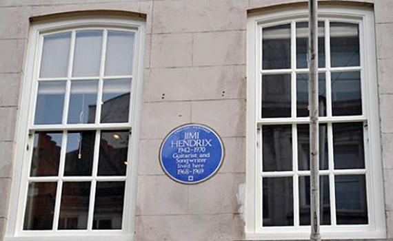 Квартиру Хендрикса превратят в музей